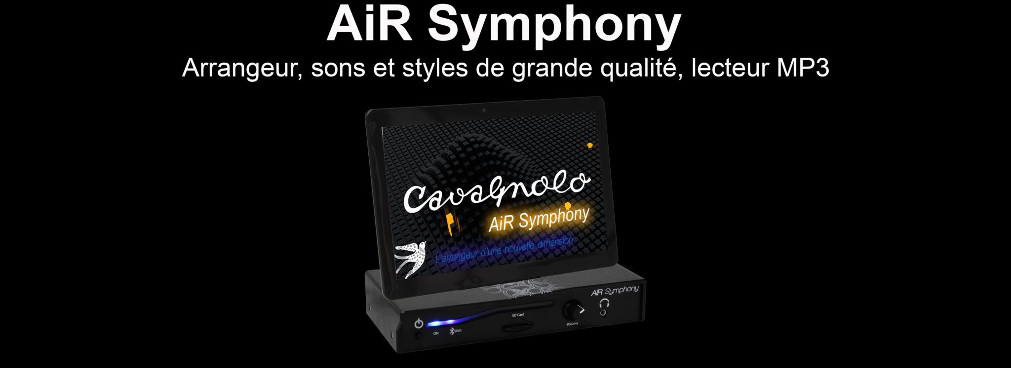 Cavagnolo, Arrangeur, AiR Symphony